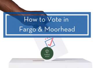 how to vote in fargo
