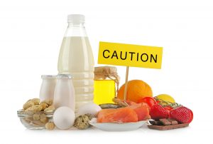 Picture of common food allergies