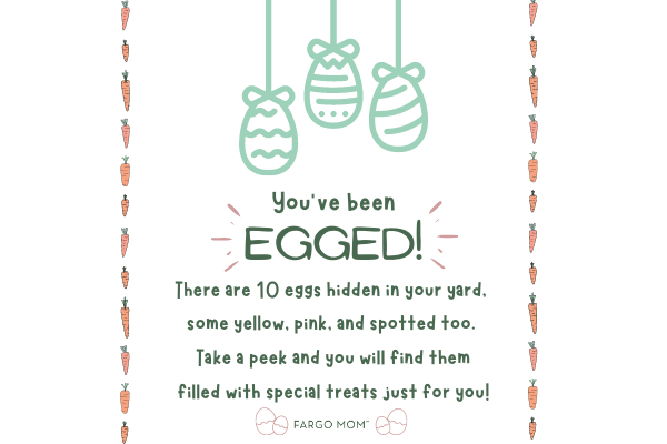 you've been egged